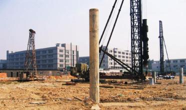 滁州东盛云强夯湖南项目强夯方案施工现场